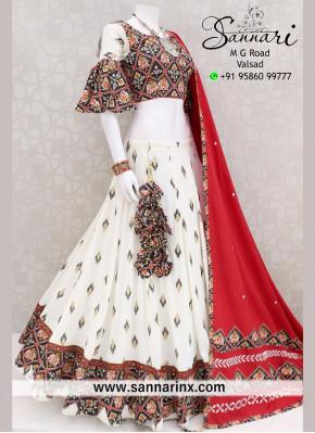 Soft cotton Fabric traditional Garba Wear Chaniya choli