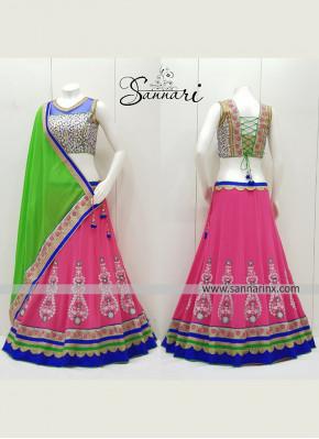 Beautiful Chaniya Choli in Pink colour