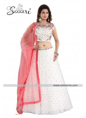 Aari Work Net Bollywood Replica Lehenga Choli