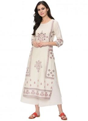 Absorbing Fancy Fabric Party Wear Kurti