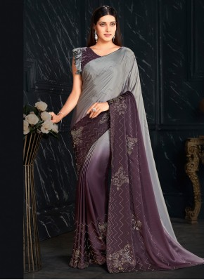 Absorbing Fancy Fabric Shaded Saree