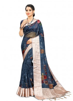 Adorable Digital Print Printed Saree