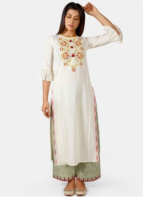 Adorable Embroidered Party Wear Kurti