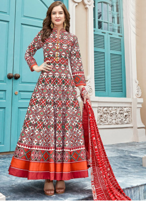 Adorning Anarkali Suit For Party