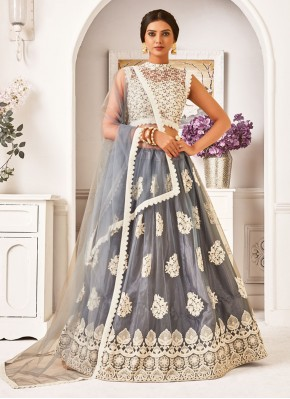 Adorning Embroidered Net Lehenga Choli