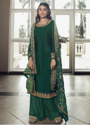 Aesthetic Faux Chiffon Designer Pakistani Suit