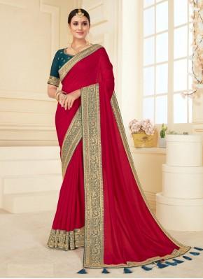 Aesthetic Rani Classic Designer Saree