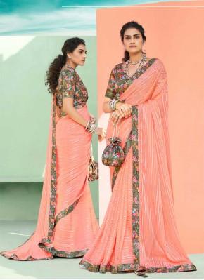 Affectionate Lace Trendy Saree