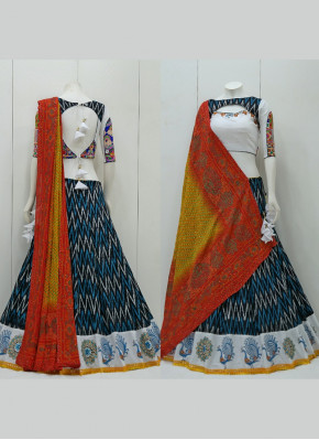 Alluring Cotton  Garba Wear Chaniya Choli