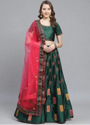 Alluring Embroidered Reception Designer Lehenga Choli