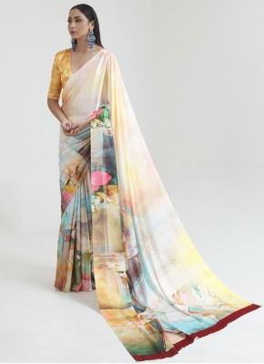 Alluring Multi Colour Casual Saree