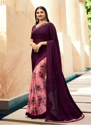 Alluring Printed Party Classic Saree