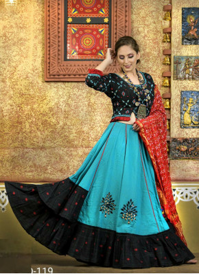 Amazing Cotton  Garba Wear Chaniya Choli