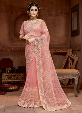 Amazing Embroidered Bridal Designer Saree