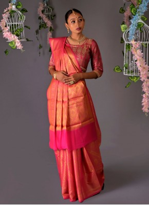 Amazing Weaving Silk Traditional Designer Saree