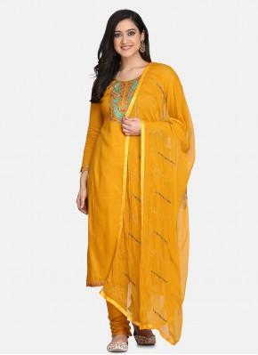 Amusing Yellow Festival Designer Suit