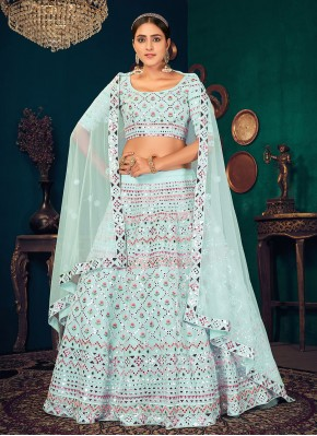 Appealing Lehenga Choli For Mehndi