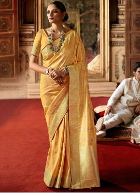 Aristocratic Fancy Silk Traditional Saree