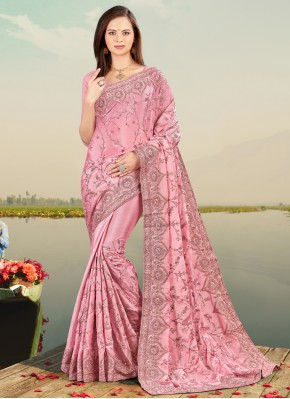 Aristocratic Lavender Designer Saree
