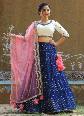 Artistic Chiffon Bollywood Style Lehenga Choli
