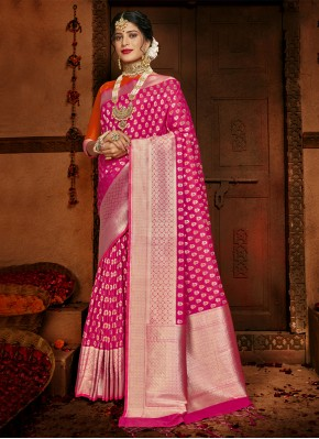 Aspiring Rani Festival Designer Traditional Saree