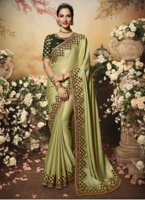 Astonishing Silk Reception Traditional Saree