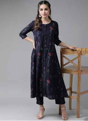 Attractive Embroidered Party Wear Kurti