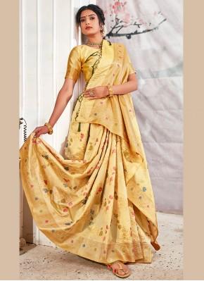 Awesome Banarasi Silk Designer Traditional Saree