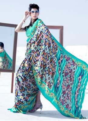 Awesome Crepe Silk Classic Saree