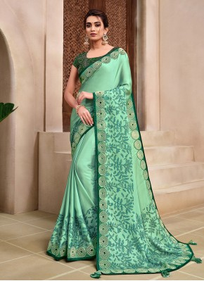 Awesome Embroidered Classic Designer Saree