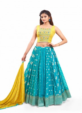 Banarasi Designer Readymade Lehngha Choli for Ceremonial
