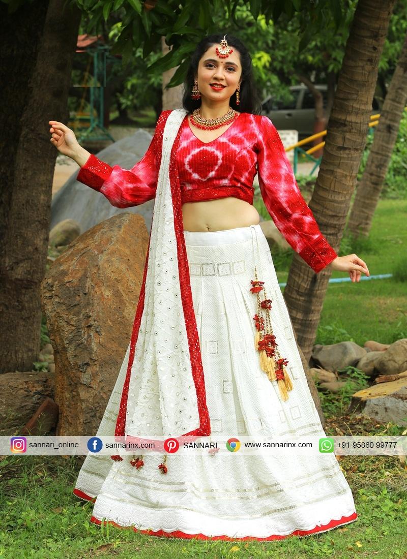 Baronial Designer Readymade Lehngha Choli