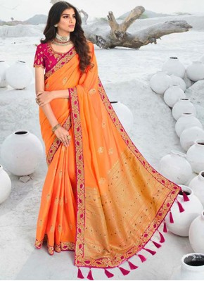 Baronial Silk Designer Saree