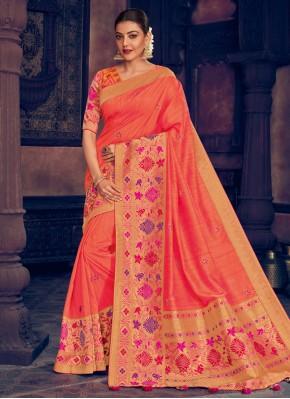 Beauteous Silk Resham Classic Saree