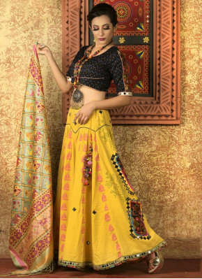 Beautiful Cotton  Garba Chaniya Choli