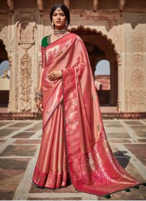 Beautiful Weaving Sangeet Classic Designer Saree