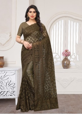 Bedazzling Resham Designer Saree
