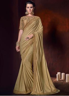 Beige Bridal Classic Saree