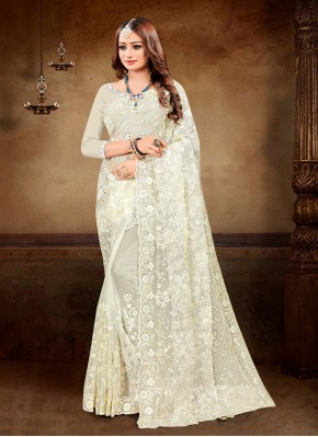 Best Embroidered Festival Trendy Saree