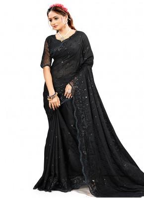 Black Ceremonial Classic Saree