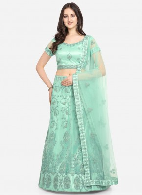Blissful Net Sangeet Lehenga Choli