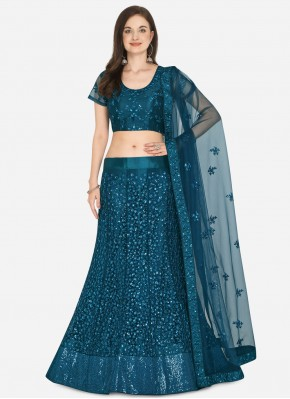 Blue Color Lehenga Choli