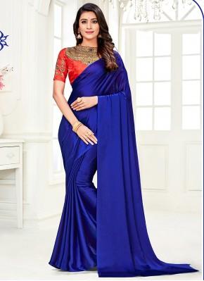 Blue Diamond Festival Trendy Saree