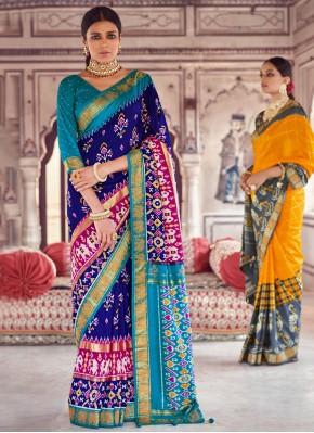 Blue Fancy Classic Designer Saree
