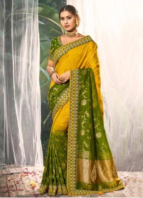 Breathtaking Multi Colour Party Traditional Saree