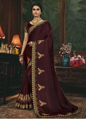 Breathtaking Silk Sangeet Designer Traditional Saree