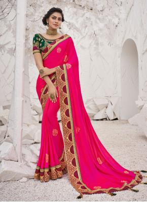 Brilliant Trendy Saree For Ceremonial