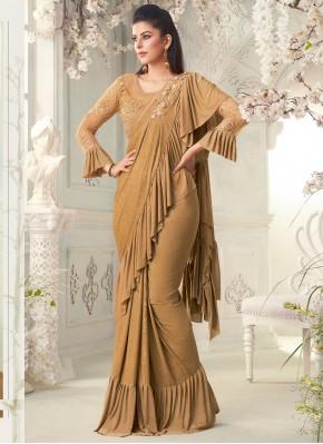Brown Fancy Classic Designer Saree