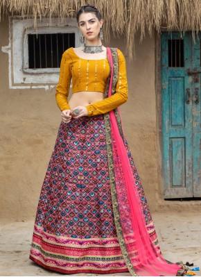 Capricious Multi Colour Lehenga Choli