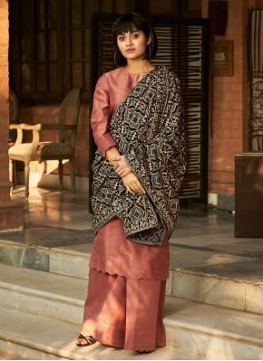 Catchy Pink Designer Palazzo Salwar Suit